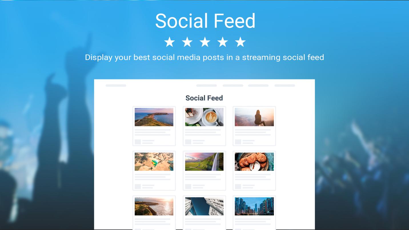 Social Feed by Powr screenshot