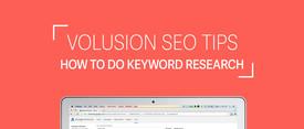 Volusion SEO Tips: How To Do Keyword Research thumbnail