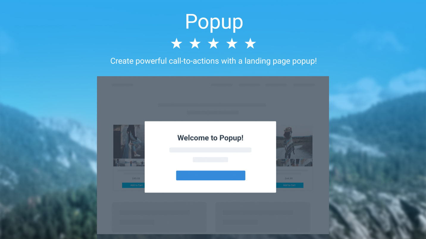 Popups by Powr screenshot